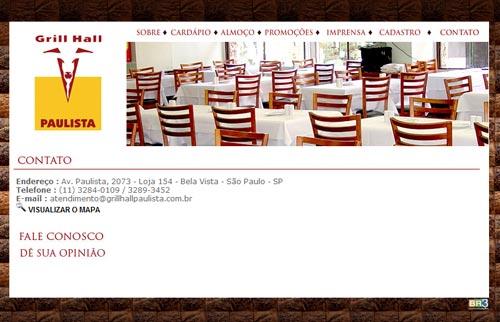 Site Grill Hall Paulista