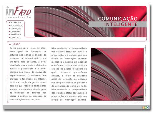 Site inFATO Comunicação Br3 Site sites cases image