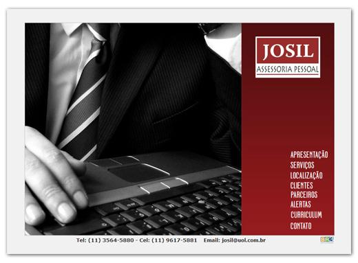 Site Josil Assessoria