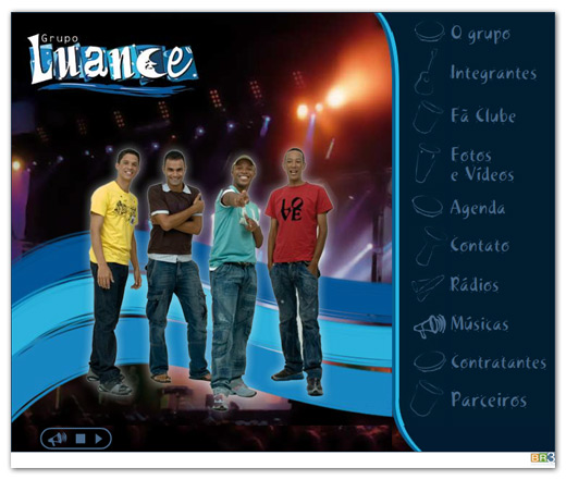 Site do Grupo Luance Br3 Site sites cases image