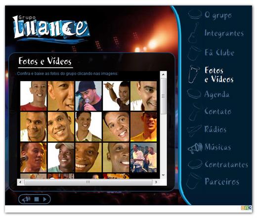 Site do Grupo Luance