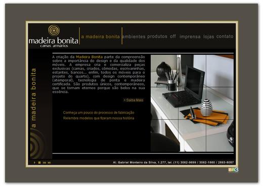 Site Madeira Bonita