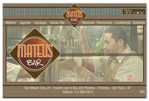 Site Mateus Bar