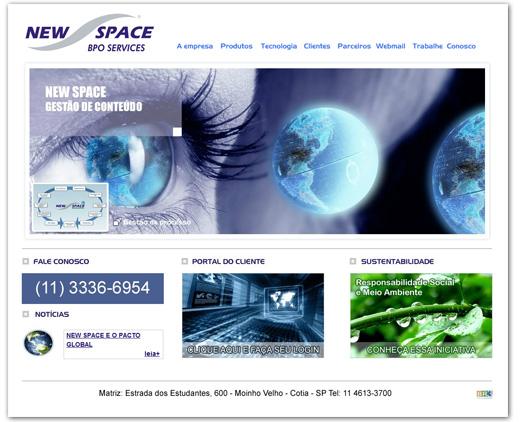 Site Space Processamento e Sistemas Ltda