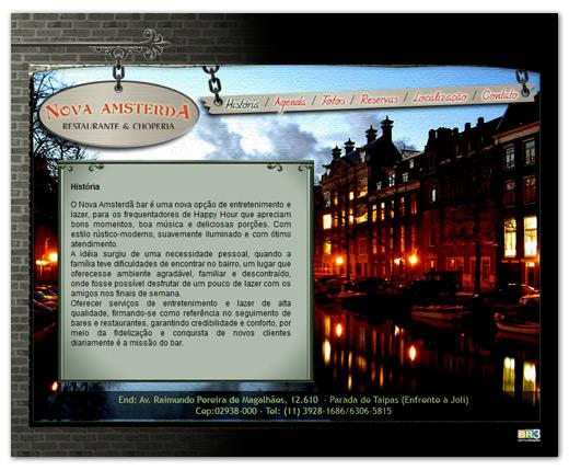 Site Nova Amsterdã