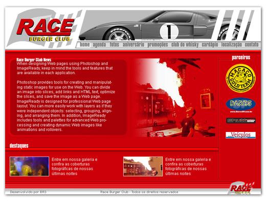 Site Race Café