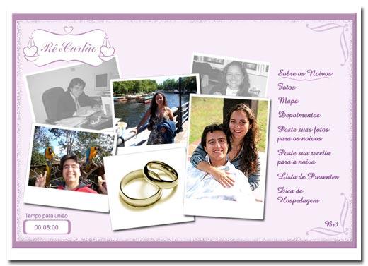 Hot Site de Casamento Rê e Carlão Br3 Site sites cases image