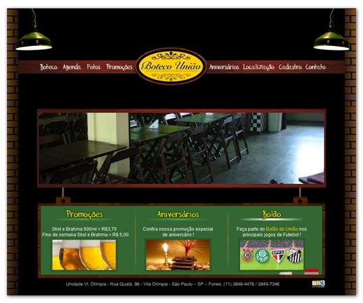 Site Boteco União Br3 Site sites cases image