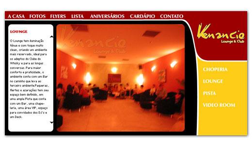 Site do Venancio Bar
