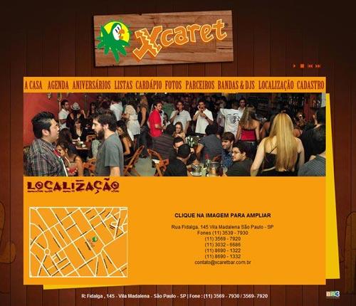 Site Xcaret Bar