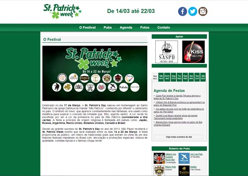 Site St. Patrick Week