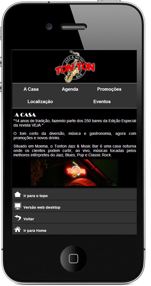Site Mobile - Tonton