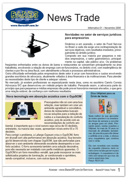 Informativo Trade News BaresSP