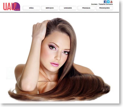 Site - UAU! hair