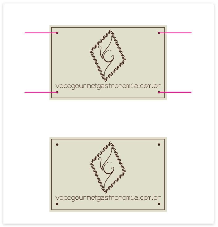 Você Gourmet - Criação de Cartão para Embalagem