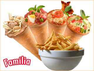 Cônicos - Pizza em Cone - Shopping Ibirapuera/bares/fotos/conicos-combo-familia.jpg BaresSP