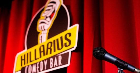 Hillarius Comedy traz diversos artistas no mês de fevereiro Eventos BaresSP 570x300 imagem