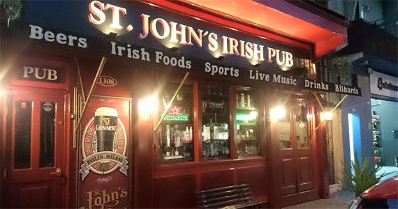 St. John s Irish Pub BaresSP 570x300 imagem
