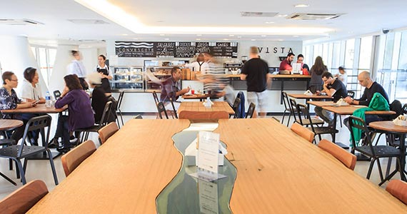 Vista Café Ibirapuera