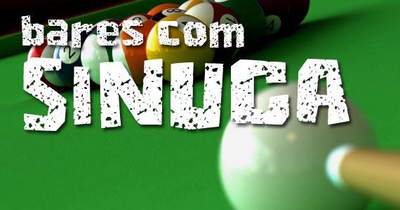 Bares de São Paulo apostam em mesas de sinuca para o happy hour Eventos BaresSP 570x300 imagem