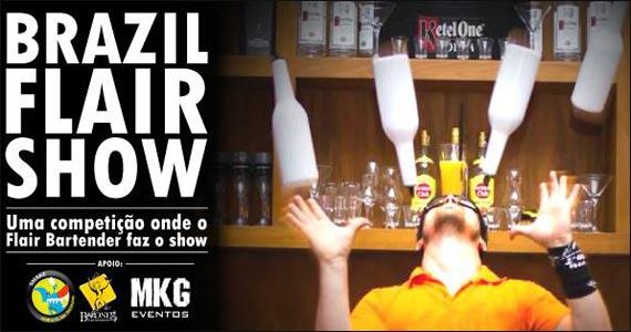 Acontece no Da Leoni a competição Brazil Flair Show  Eventos BaresSP 570x300 imagem