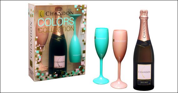 Chandon lança novas taças da Colors Collections em edição limitada nas cores verde e rosa Eventos BaresSP 570x300 imagem