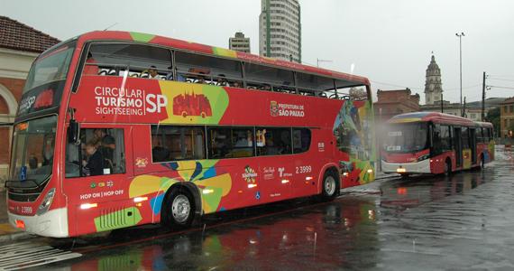 SP ganha ônibus de turismo com wi-fi e informações em 3 idiomas BaresSP