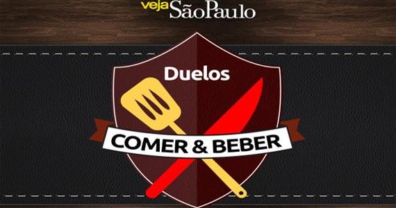 Veja Comer & Beber promove Duelos Comer & Beber com alunos de São Paulo Eventos BaresSP 570x300 imagem