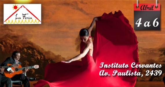 Entre os dias 4 a 6 de Abril acontece a La Feria no Instituto Cervantes Eventos BaresSP 570x300 imagem