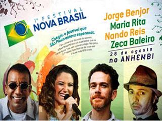 1° Festival Nova Brasil Traz quatro Grandes nomes ao palco do Anhembi Eventos BaresSP 570x300 imagem
