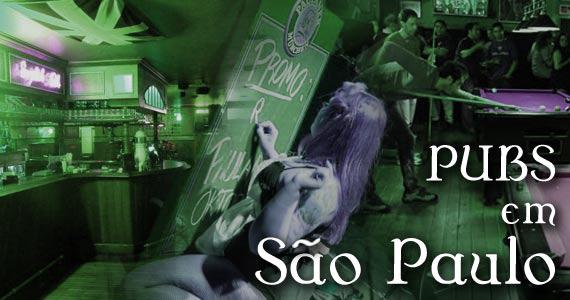 Listamos os principais Pubs de São Paulo para você aproveitar a noite BaresSP