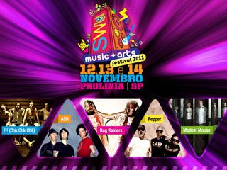 Festival SWU confirma mais cinco bandas para o palco New Stage Eventos BaresSP 570x300 imagem
