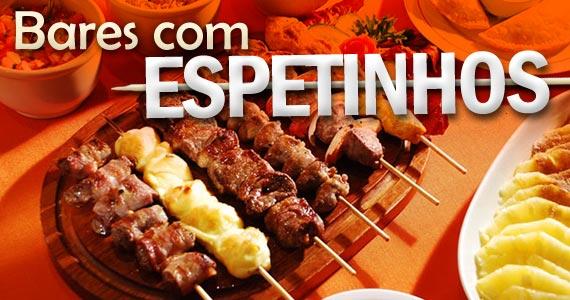 EspetinhoDiversas opções para comer espetinhos e tomar cerveja em SP BaresSP imagem