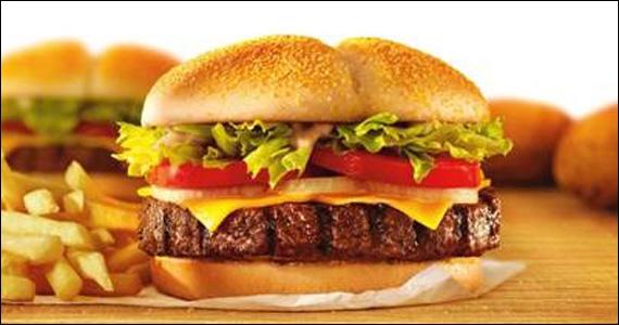 Burger King lança sanduíche preparado com 200 gramas de um suculento hambúrguer de picanha  Eventos BaresSP 570x300 imagem