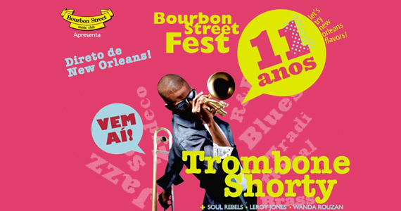 São Paulo recebe a 11ª edição do Bourbon Street Fest com atrações especiais Eventos BaresSP 570x300 imagem