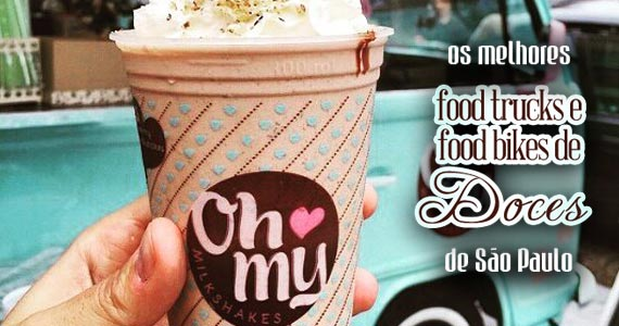 Encontre os melhores food trucks e food bikes de doces de São Paulo Eventos BaresSP 570x300 imagem