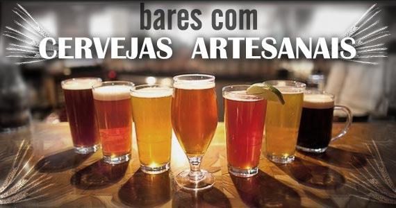 Bares com diferentes rótulos de cervejas artesanais Eventos BaresSP 570x300 imagem