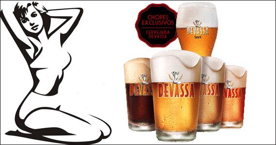Cervejaria Devassa oferece cinco variedades de chopes artesanais Eventos BaresSP 570x300 imagem