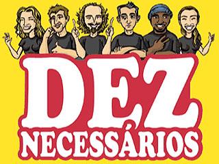 """Show humorístico """"Deznecessários"""" no Pueblo de México Eventos BaresSP 570x300 imagem"""