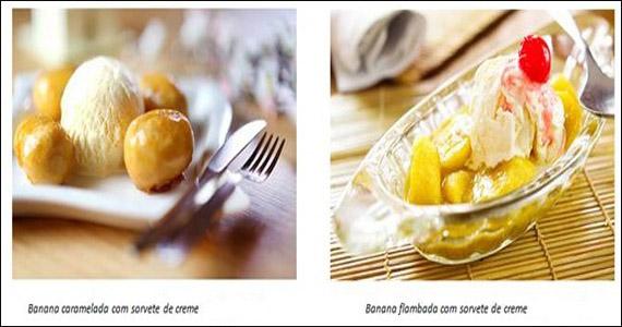 No Dia do Cliente, restaurantes japoneses presenteiam todos com sobremesas feitas com banana Eventos BaresSP 570x300 imagem