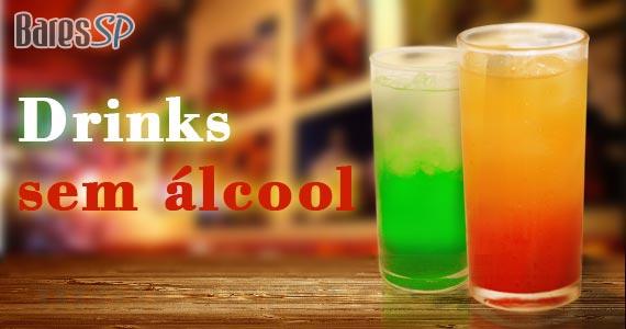 Aprenda 5 receitas de diferentes coquetéis sem álcool  BaresSP