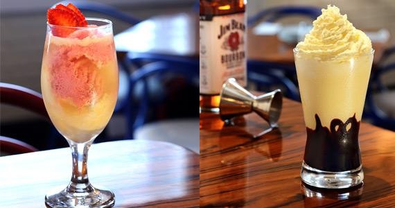 Cardápio de bebidas do The Fifties ganha Milk Shakes Alcoólicos Eventos BaresSP 570x300 imagem