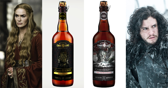 Série da HBO Game of Thrones ganha rótulo da cervejaria Ommegang Eventos BaresSP 570x300 imagem