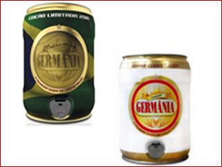 Lata de chopp de 5 litros é sugestão da Germânia para o Dia dos Namorados Eventos BaresSP 570x300 imagem