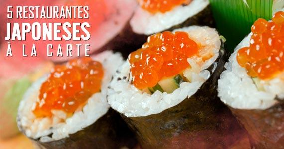 Japoneses5 restaurantes japoneses com pratos à la carte em São Paulo  BaresSP imagem