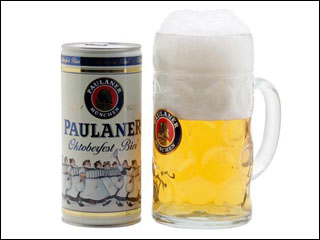 Importadora Casa Flora traz kit oficial da Oktoberfest Paulaner com caneca de vidro e lata de cerveja com 1 litro para o Brasil Eventos BaresSP 570x300 imagem