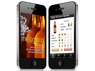 Melograno lança aplicativo para iPhone e iPod Touch com sua carta de cervejas Eventos BaresSP 570x300 imagem