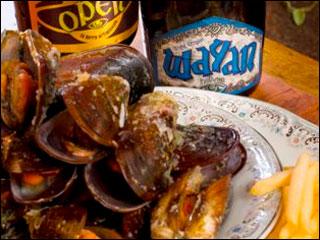 Está aberta a temporada Oui Madame, La Bière! Moules et Frites no Chef Rouge Eventos BaresSP 570x300 imagem