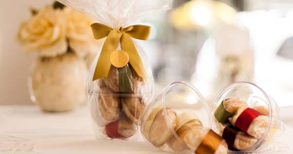 Ovo de bem-casado é a aposta da loja Fina Nata para a Páscoa Eventos BaresSP 570x300 imagem