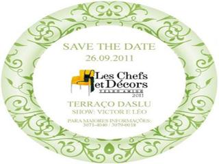 7ª Edição do evento Les Chefs Et Décors tem buffet de comida peruana Eventos BaresSP 570x300 imagem